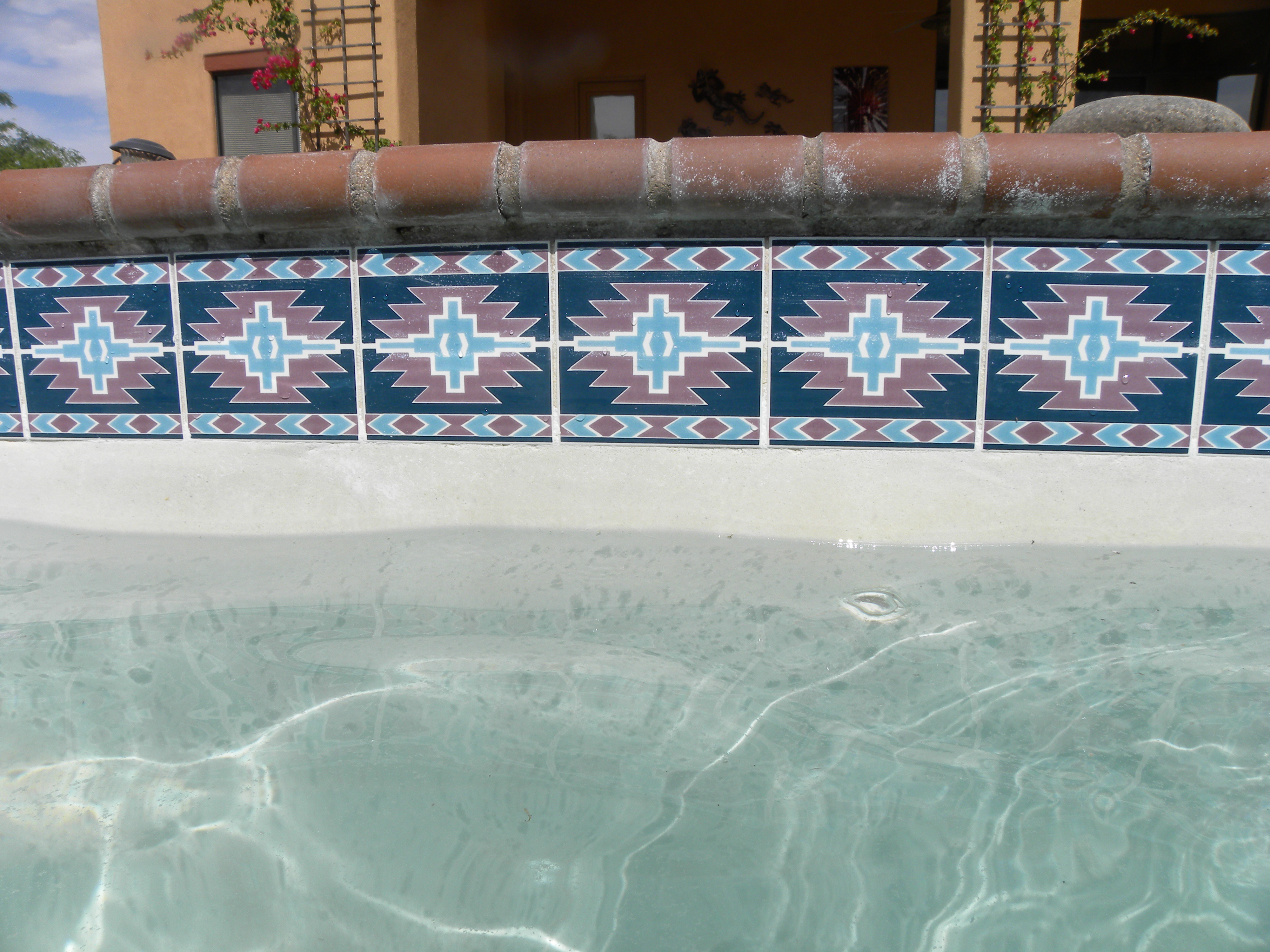 Pool Tile Cleaning After