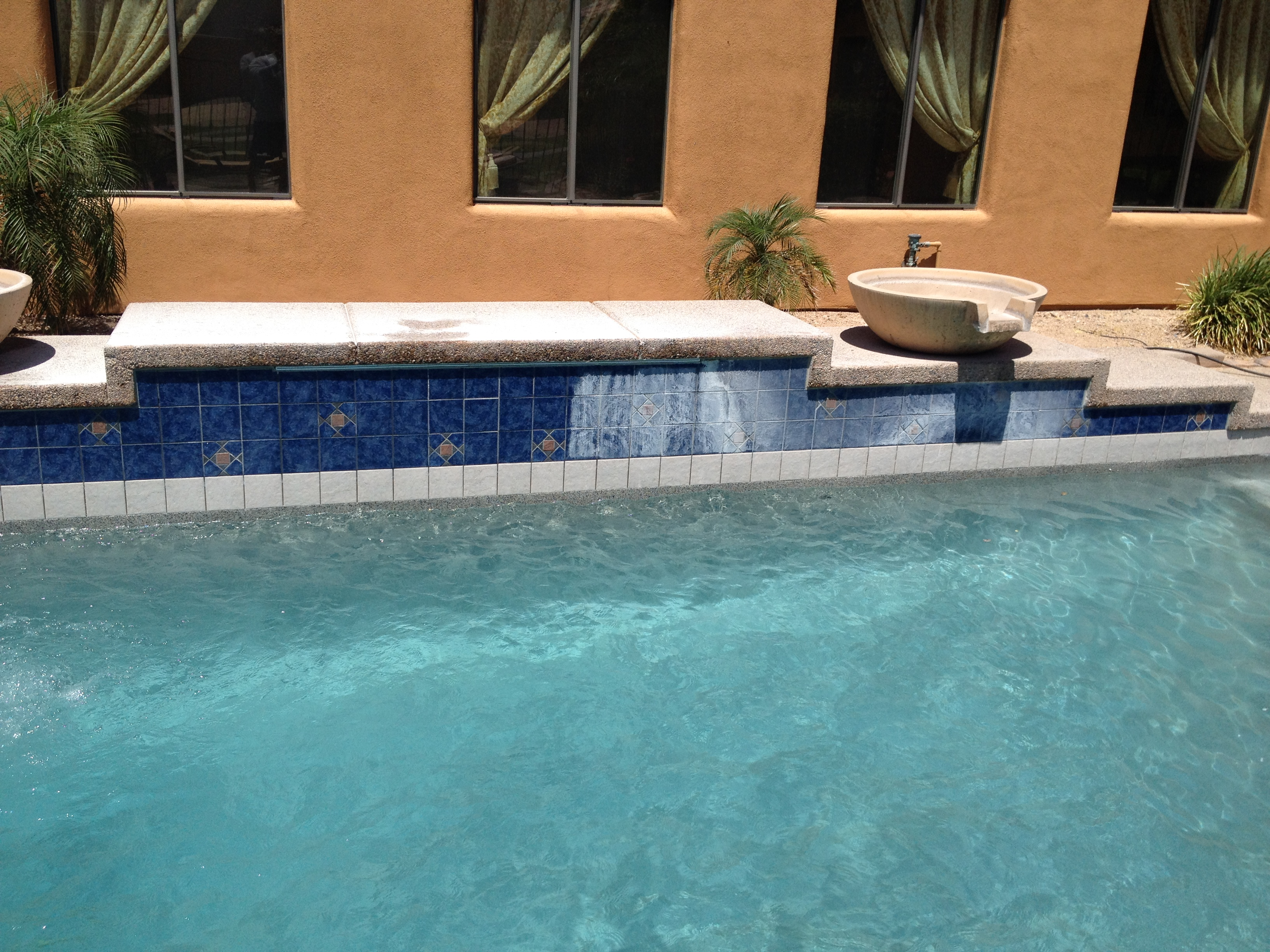 Pool Tile Cleaning by Doc