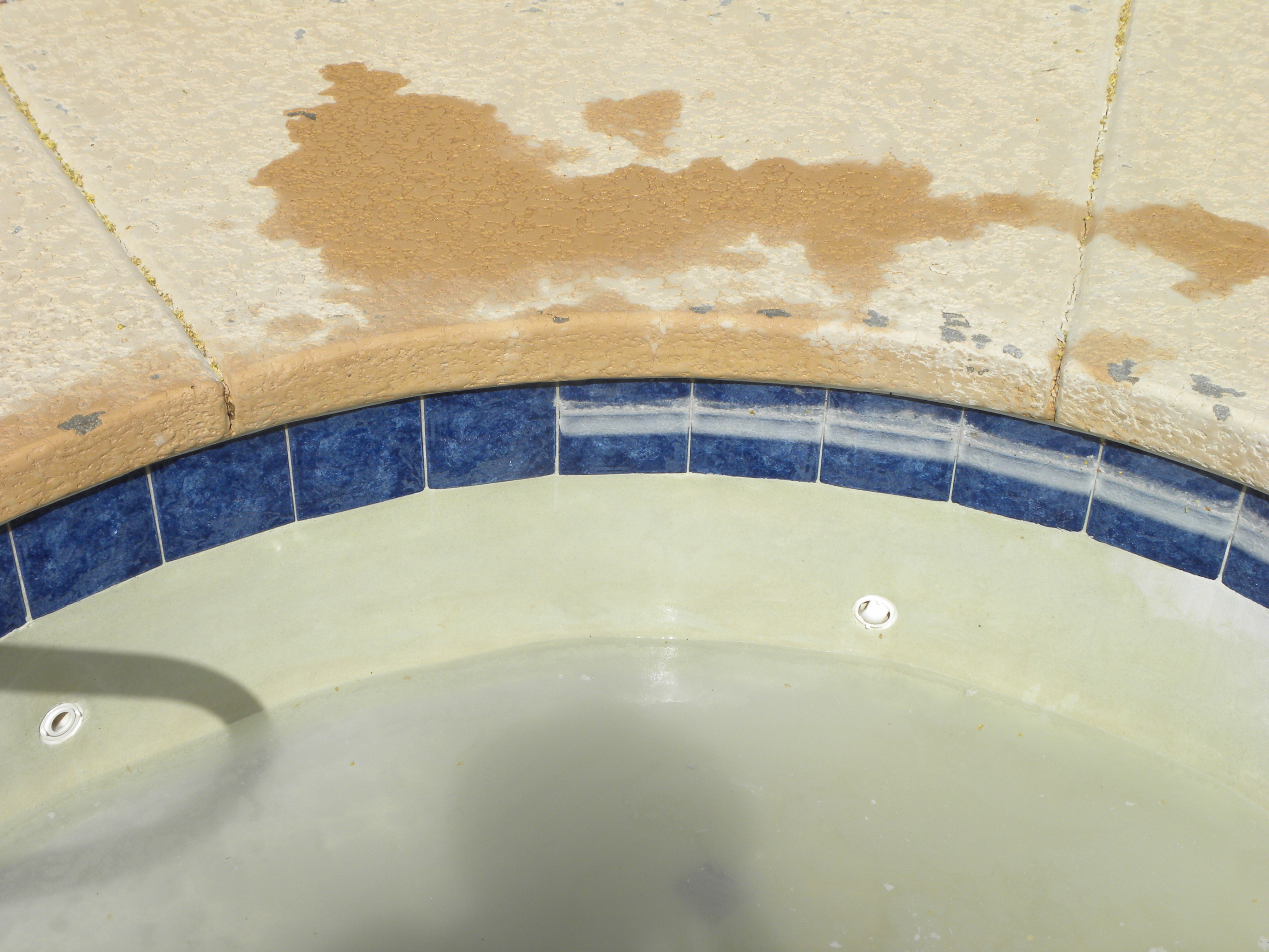 Tucson Pool Tile Cleaning by Doc